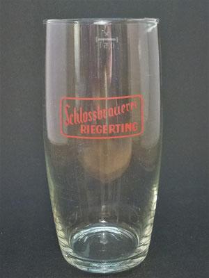 Schlossbrauerei Riegerting, Mehrnbach, Bezirk Ried, OÖ, + 1985  (Glas von ca. 1960)