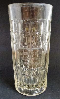 Brauherrenverein Vertretung J. Prochaska   (Glas von ca. 1900)