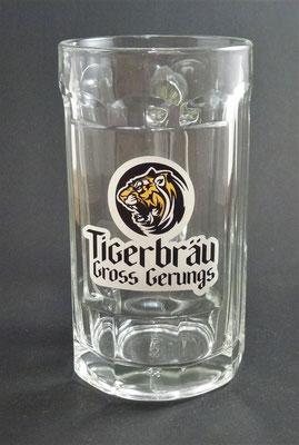 Tigerbräu Groß Gerungs,  Zwettler , NÖ - zur Erinnerung an die Brauerei Groß Gerungs  (Glas von ca. 2014)