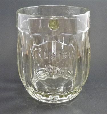 Brauerei Zipf, OÖ  (Glas von ca. 1900)