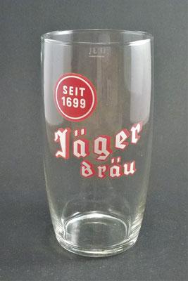 Brauerei Wahlmühle , Jägerbräu, Sierninghofen, Bezirk Steyr Land, OÖ, + 1978  (Glas von ca. 1960)
