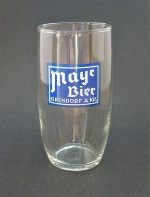OE077, Brauerei Mayr . Kirchdorf a.d. Krems, OÖ, + 2003  (Glas von ca. 1960)