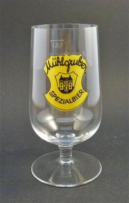 """Brauerei Mühlgrub, """"Schartner"""" Fein Ges.m.b.H., Bad Hall, Bezirk Steyr Land, OÖ, + 1986  (Glas von ca. 1960)"""