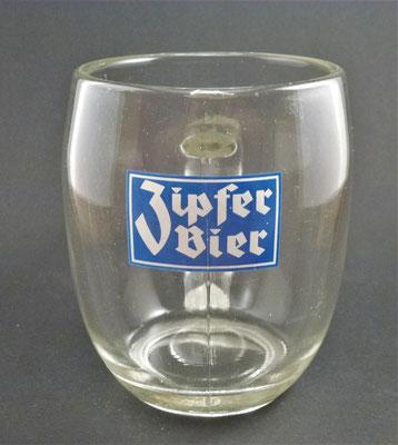Brauerei Zipf, OÖ  (Glas von ca. 1950)