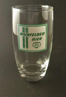 Hainfelder, NÖ  (Glas von ca. 1960)