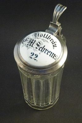 Höllbräu, Salzburg Stadt, + 1922 (Glas von ca. 1900)