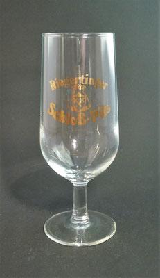 Schlossbrauerei Riegerting, Mehrnbach, Bezirk Ried, OÖ, + 1985  (Glas von ca. 1980)