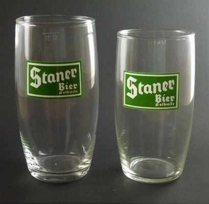 Stanerbräu, (Ober-)Kolbnitz, KTN, + 1979 (Glas von ca. 1960)