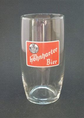 Brauerei Höhnhart, Bezirk Braunau, OÖ + 1983  (Glas von ca. 1950)
