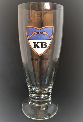 Hofbräu Kaltenhausen, Hallein, SBG, + 2011 (0,5 L Glas von ca. 1915/1920)