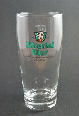 Zellerbräu, Zell am Ziller, Tirol (Glas von ca. 1990)