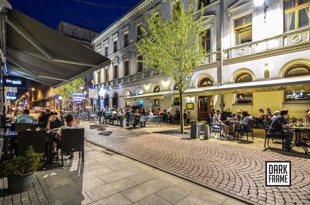 ulica 6 Sierpnia woonerf, zdjęcia Łodzi