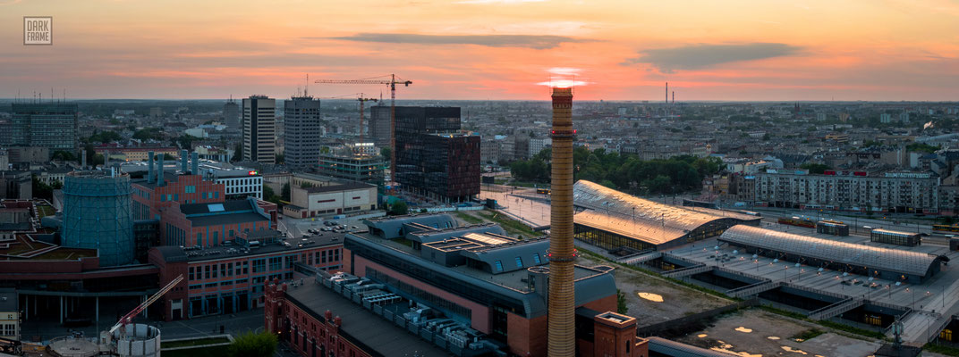 Łódź, zdjęcia Łodzi Dark Frame