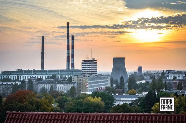 Panorama Łodzi, zdjęcia Łodzi Dark Frame