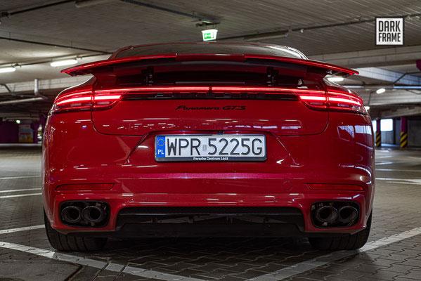 Porsche Panamera GTS, Porsche Centrum Łódź, Dark Frame