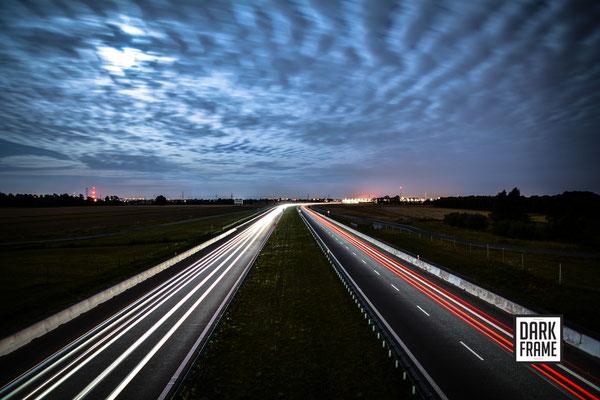 Droga S14, zdjęcia Łodzi Dark Frame