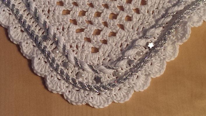 Sternchen weiß Detail