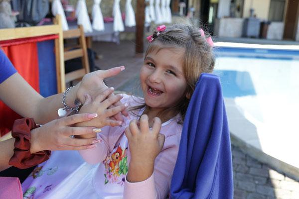 beauty spa party bambini roma