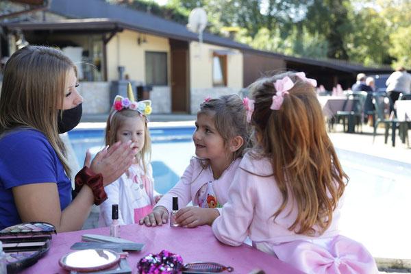spa party bambine roma