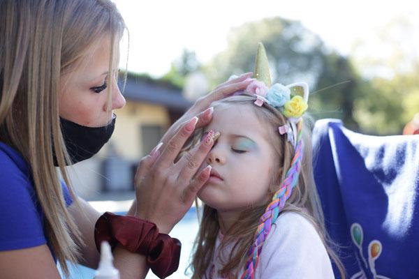 festa beauty party per bambine
