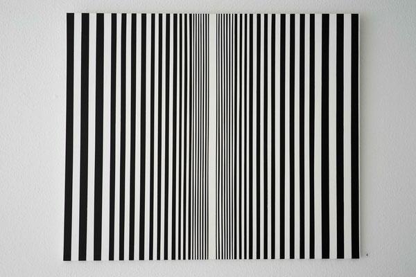 Cornelia Rohde: Bild 448. Acryl auf Leinwand, 100 x 120 cm, 2017