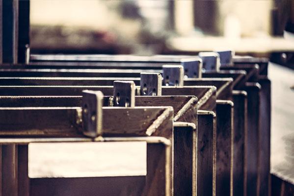 Stahlbau Baustahl Fertigung cnc plasma brennschneiden Bauteil Bauteile