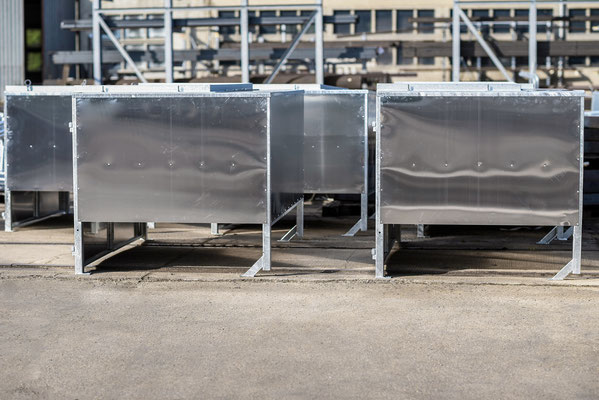 Transport Boxen cnc zuschnitt Lohnfertigung Metallbau Stahlbau Anlagenbau plasmaschnitt Fertigung körnen markieren scannen fase schneiden Bauteil Bauteile