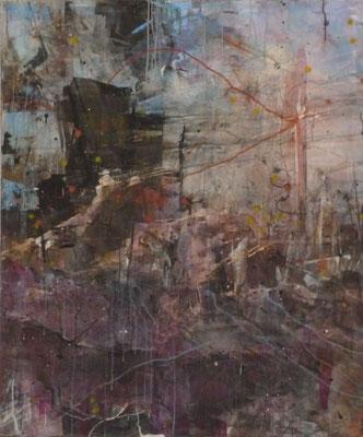 "Anja Kühnrich-Wilke, ""10"", 2009 Acryl auf Leinwand, 120 x 100 cm"