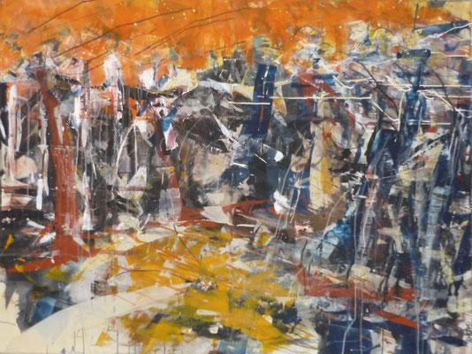 "Anja Kühnrich-Wilke, ""02"", 2010 Acryl auf Leinwand, 120 x 160 cm"
