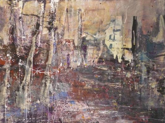"Anja Kühnrich-Wilke, ""01"", 2010 Acryl auf Leinwand, 120 x 160 cm"