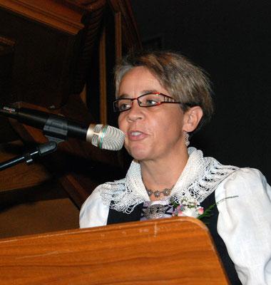 Begrüssung Präsidentin Sandra Bühler