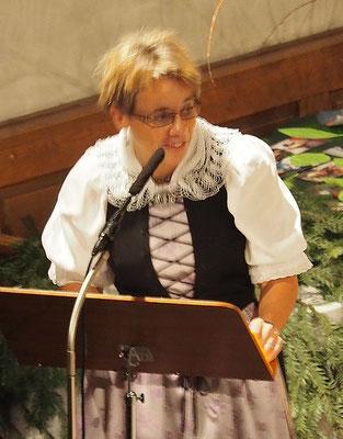 Sandra Bühler, Ansage