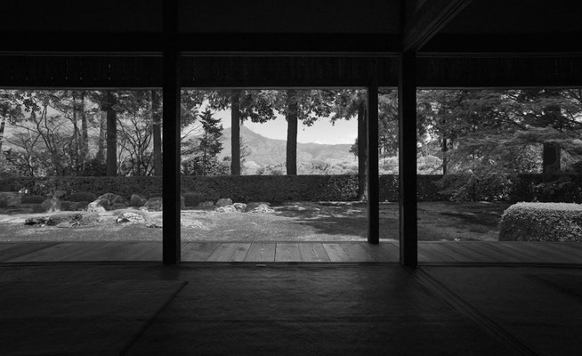 京都 円通寺 枯山水