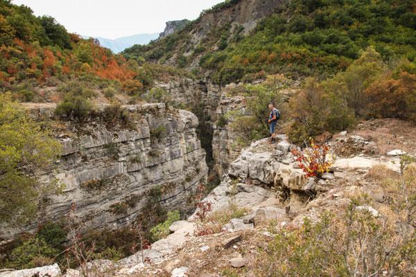 Canyon der Lengarica