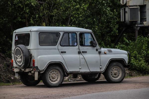 ein GAZ, sieht aber ein bisschen aus wie ein Landy, oder?