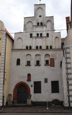 Riga, das älteste Haus der Stadt