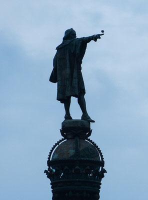 Kolumbus zeigt, wo es lang geht