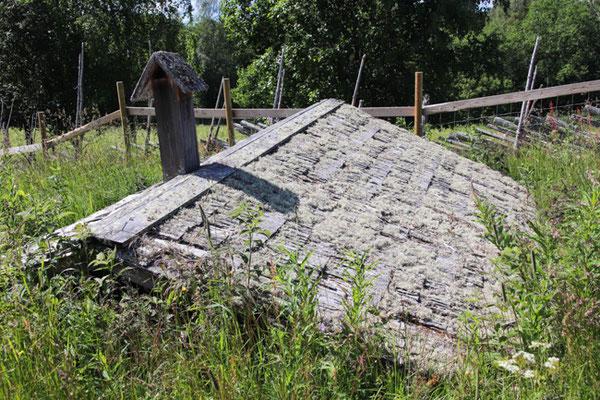 im Koli-Nationalpark, Erdkeller