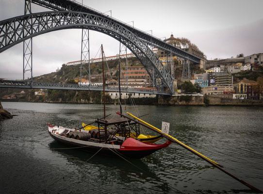 Porto, Portweinboot