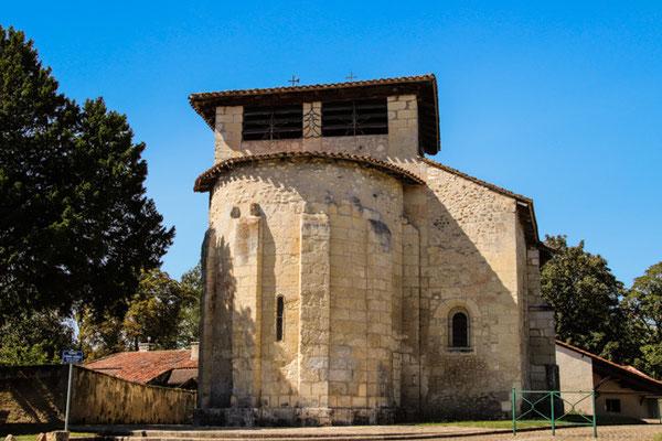 Ségonzac, romanische Kirche