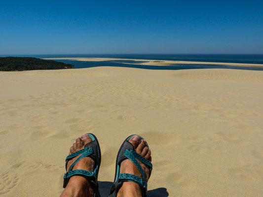 auf der Dune de Pilat