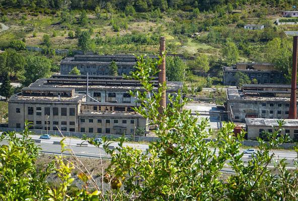 aufgelassene Fabrik