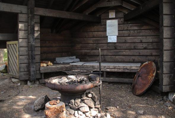 bei Kristiinankaupunki, Grillhütte