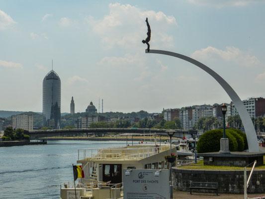 Liège, Yachthafen