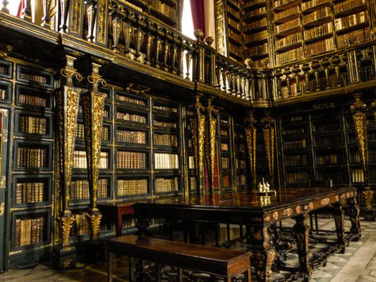 Coimbra, alte Universitätsbibliothek