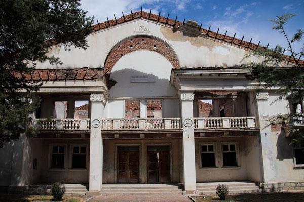 Kulturpalast in Maliq