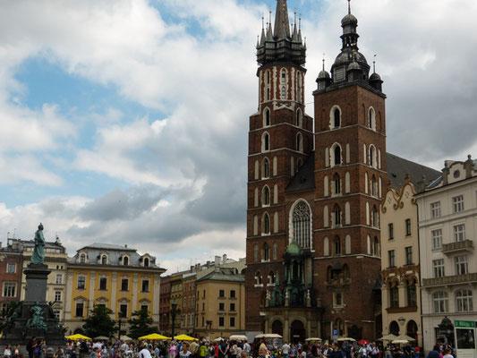 Krakau, Rynek