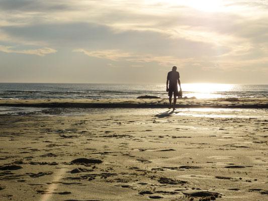 am Strand von Biscarosse Plage