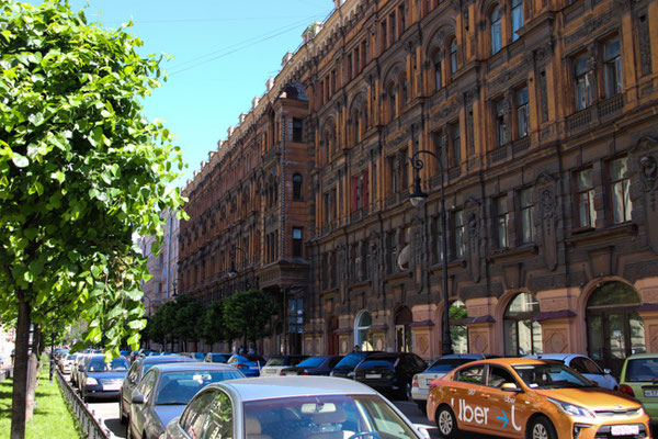 prächtige Stadthäuser