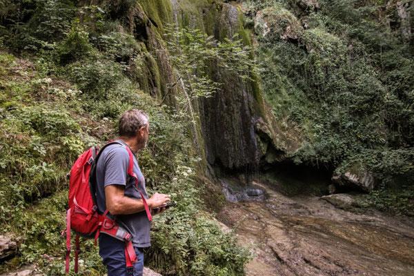 Wasserfall Suchbild!